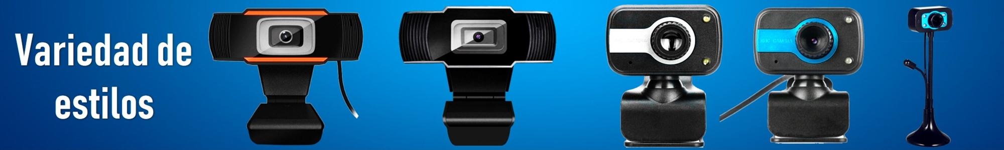 Variedad de webcams