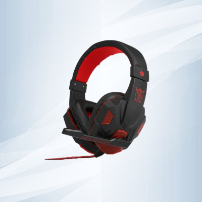Usb 3.5mm Led Estéreo Pc Gaming Headset Auriculares Over Ear
